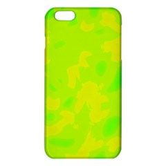 Simple Yellow And Green Iphone 6 Plus/6s Plus Tpu Case by Valentinaart