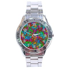 Lizards Stainless Steel Analogue Watch