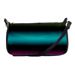 Dark Green Mint Blue Lilac Soft Gradient Shoulder Clutch Bags by designworld65