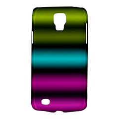 Dark Green Mint Blue Lilac Soft Gradient Galaxy S4 Active by designworld65