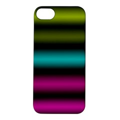 Dark Green Mint Blue Lilac Soft Gradient Apple Iphone 5s/ Se Hardshell Case by designworld65