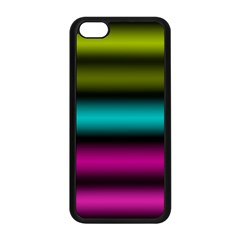 Dark Green Mint Blue Lilac Soft Gradient Apple Iphone 5c Seamless Case (black) by designworld65