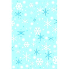 Blue Xmas Pattern 5 5  X 8 5  Notebooks