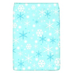 Blue Xmas Pattern Flap Covers (l)  by Valentinaart