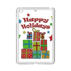 Happy Holidays   Gifts And Stars Ipad Mini 2 Enamel Coated Cases by Valentinaart