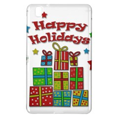 Happy Holidays   Gifts And Stars Samsung Galaxy Tab Pro 8 4 Hardshell Case by Valentinaart