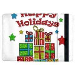 Happy Holidays   Gifts And Stars Ipad Air 2 Flip by Valentinaart