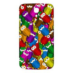Cute Owls Mess Samsung Galaxy Mega I9200 Hardshell Back Case by Valentinaart