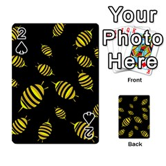 Decorative Bees Playing Cards 54 Designs