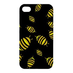 Decorative Bees Apple Iphone 4/4s Premium Hardshell Case