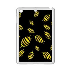 Decorative Bees Ipad Mini 2 Enamel Coated Cases by Valentinaart