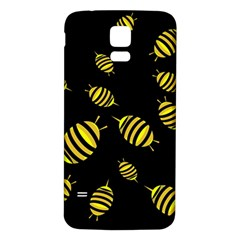 Decorative Bees Samsung Galaxy S5 Back Case (white)