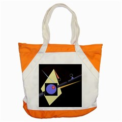 Construction Accent Tote Bag by Valentinaart