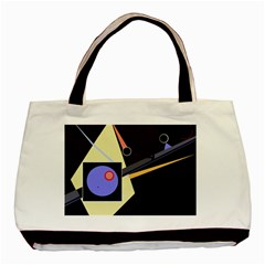 Construction Basic Tote Bag (two Sides) by Valentinaart