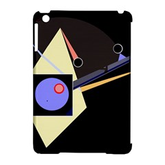 Construction Apple Ipad Mini Hardshell Case (compatible With Smart Cover) by Valentinaart