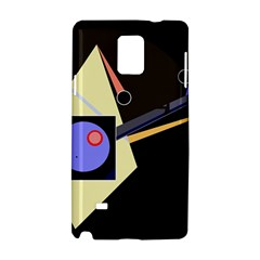 Construction Samsung Galaxy Note 4 Hardshell Case by Valentinaart