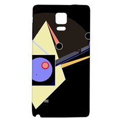 Construction Galaxy Note 4 Back Case by Valentinaart