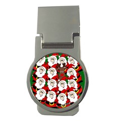Did You See Rudolph? Money Clips (round)  by Valentinaart