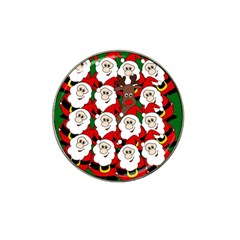 Did You See Rudolph? Hat Clip Ball Marker (4 Pack)