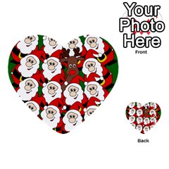 Did You See Rudolph? Multi Purpose Cards (heart)  by Valentinaart