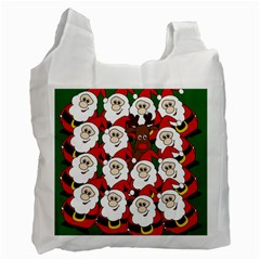 Did You See Rudolph? Recycle Bag (one Side)