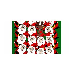 Did You See Rudolph? Satin Wrap