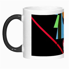 Abstract Composition  Morph Mugs by Valentinaart