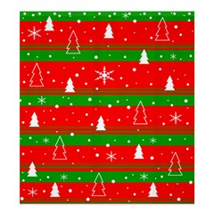 Xmas Pattern Shower Curtain 66  X 72  (large)