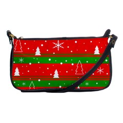 Xmas Pattern Shoulder Clutch Bags