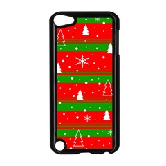 Xmas Pattern Apple Ipod Touch 5 Case (black) by Valentinaart