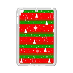 Xmas Pattern Ipad Mini 2 Enamel Coated Cases by Valentinaart