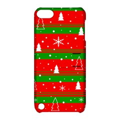 Xmas Pattern Apple Ipod Touch 5 Hardshell Case With Stand by Valentinaart