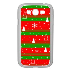 Xmas Pattern Samsung Galaxy Grand Duos I9082 Case (white) by Valentinaart