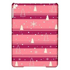 Pink Xmas Ipad Air Hardshell Cases by Valentinaart
