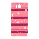 Pink Xmas Samsung Galaxy Alpha Hardshell Back Case Front