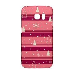 Pink Xmas Galaxy S6 Edge by Valentinaart