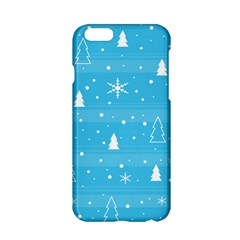 Blue Xmas Apple Iphone 6/6s Hardshell Case by Valentinaart