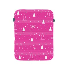 Magenta Xmas Apple Ipad 2/3/4 Protective Soft Cases by Valentinaart