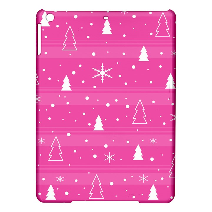 Magenta Xmas iPad Air Hardshell Cases