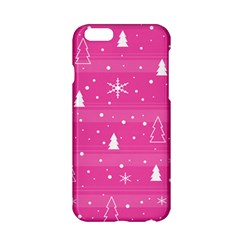 Magenta Xmas Apple Iphone 6/6s Hardshell Case
