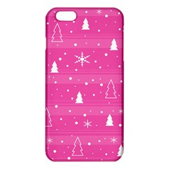 Magenta Xmas Iphone 6 Plus/6s Plus Tpu Case by Valentinaart