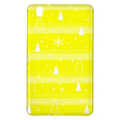 Yellow Xmas Samsung Galaxy Tab Pro 8 4 Hardshell Case by Valentinaart