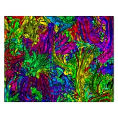 Hot Liquid Abstract A Rectangular Jigsaw Puzzl by MoreColorsinLife