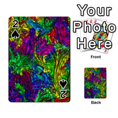 Hot Liquid Abstract A Playing Cards 54 Designs