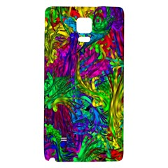 Hot Liquid Abstract A Galaxy Note 4 Back Case by MoreColorsinLife