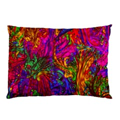 Hot Liquid Abstract B  Pillow Case by MoreColorsinLife