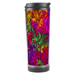 Hot Liquid Abstract B  Travel Tumbler by MoreColorsinLife