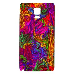 Hot Liquid Abstract B  Galaxy Note 4 Back Case by MoreColorsinLife