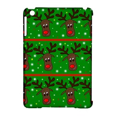 Reindeer Pattern Apple Ipad Mini Hardshell Case (compatible With Smart Cover) by Valentinaart