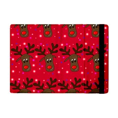 Reindeer Xmas Pattern Ipad Mini 2 Flip Cases by Valentinaart